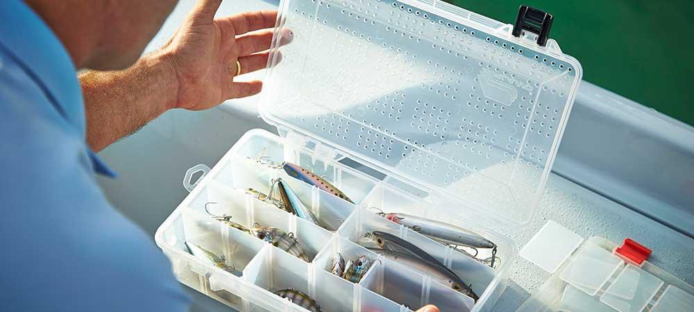 Fishing tackle storage