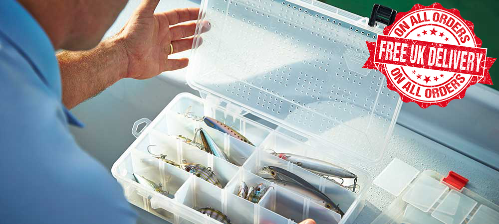 Fishing and tackle storage